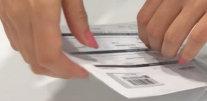 Paso 7. Introducimos los documentos en la bolsa transparente